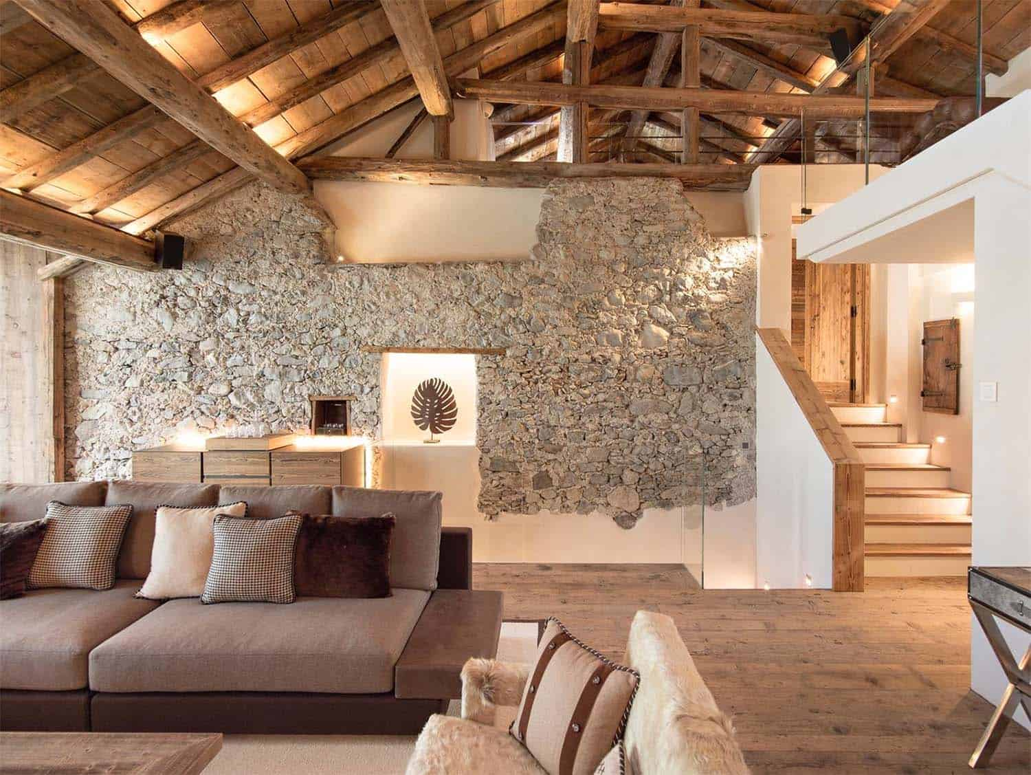 Luxury Restored In A 300 Year Old House In St Moritz