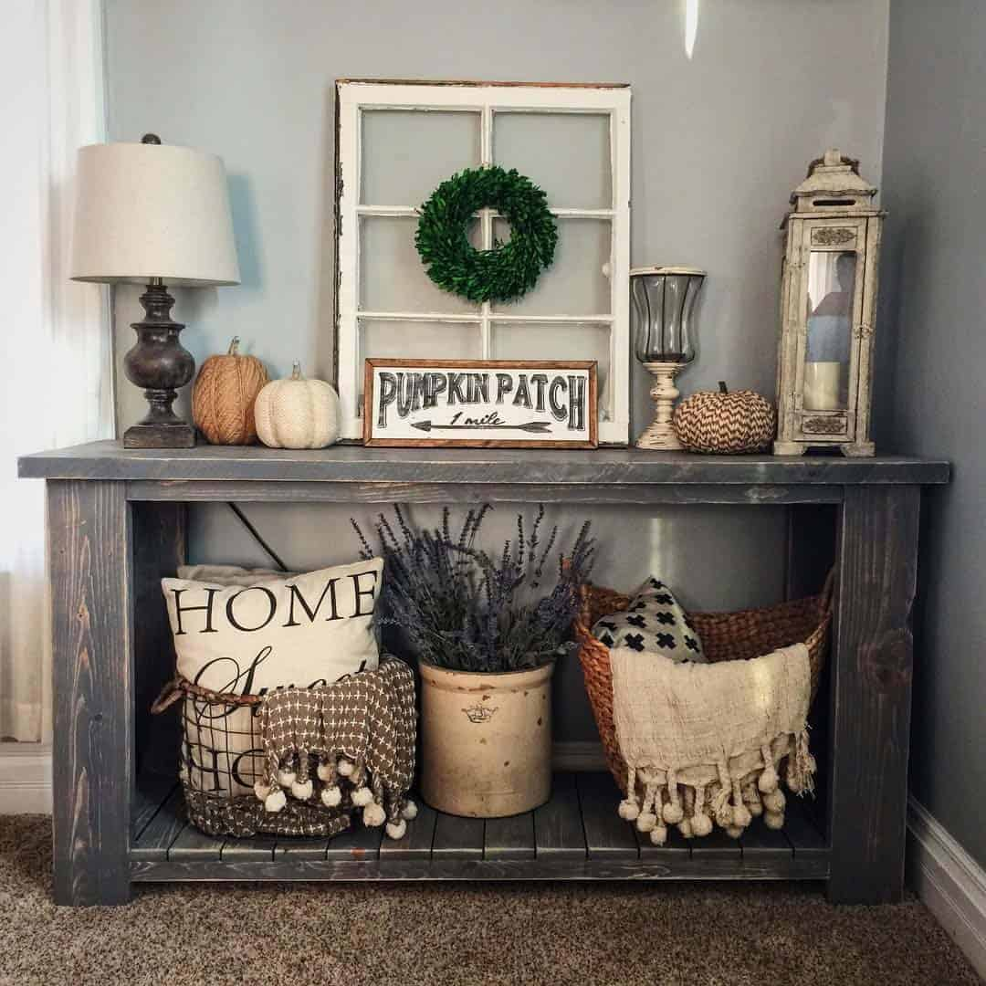 50+ Absolutely gorgeous farmhouse fall decorating ideas on Farmhouse Decorating Ideas  id=25836