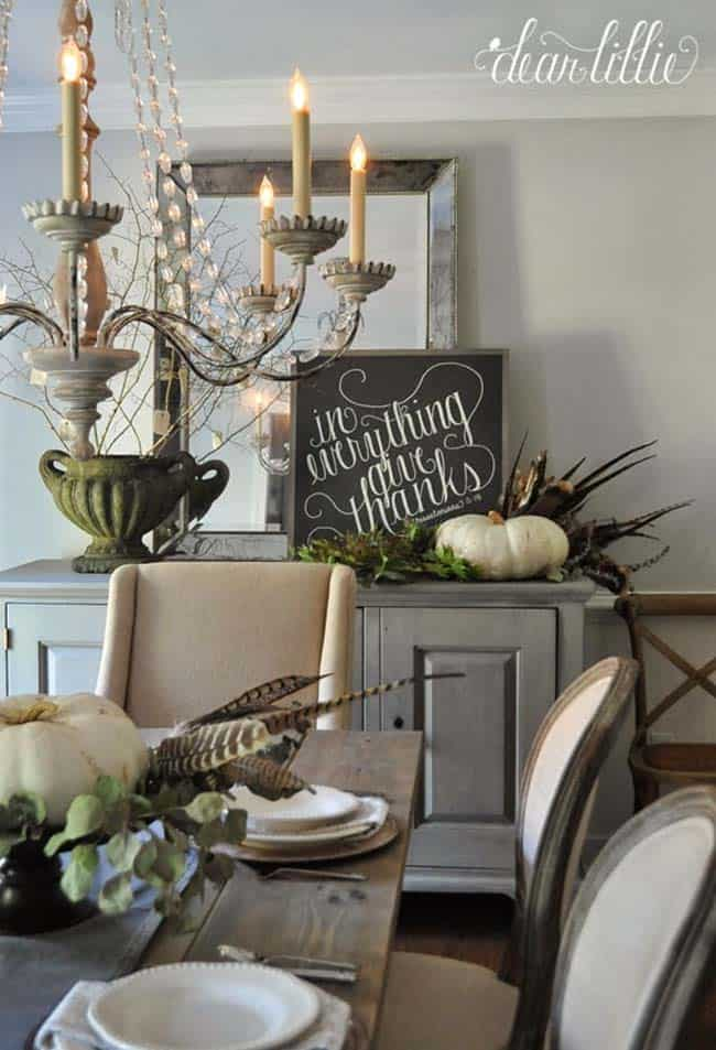 50+ Absolutely gorgeous farmhouse fall decorating ideas on Farmhouse Decorating Ideas  id=94319