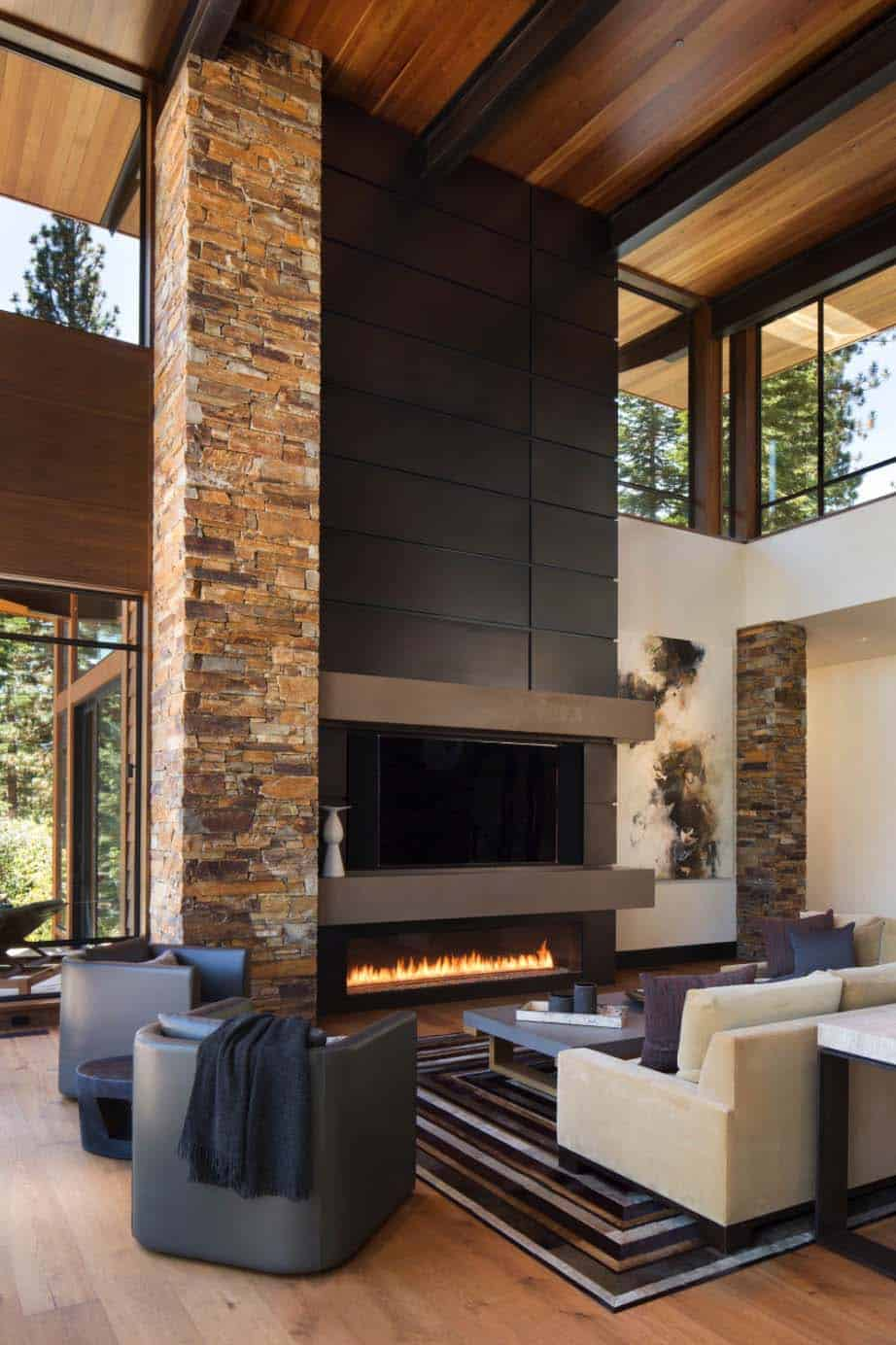 Fabulous mountain modern retreat in the High Sierras on Interior:ybeqvfpgwcq= Modern House Ideas  id=90440