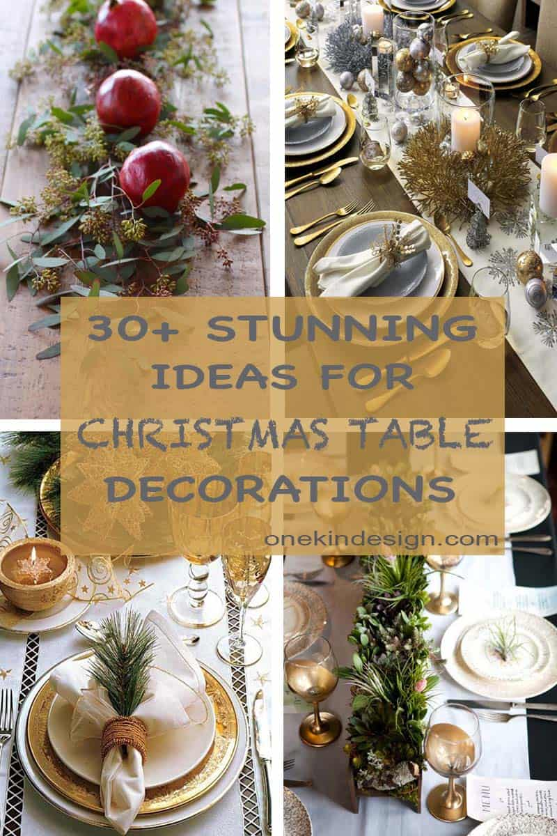 Weidding Christmas Table Top