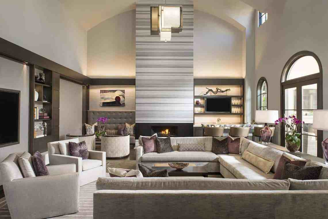 Luxurious modern home with striking entertaining spaces in ...