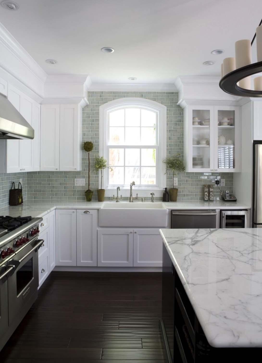 25 breathtaking carrara marble kitchens