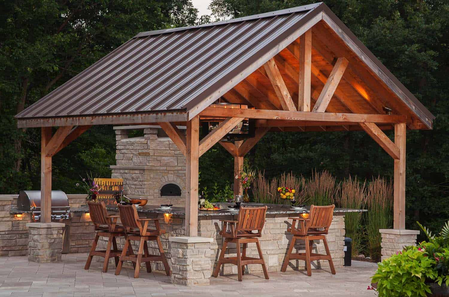 20+ Spectacular outdoor kitchens with bars for entertaining on Patio With Bar Ideas id=48325