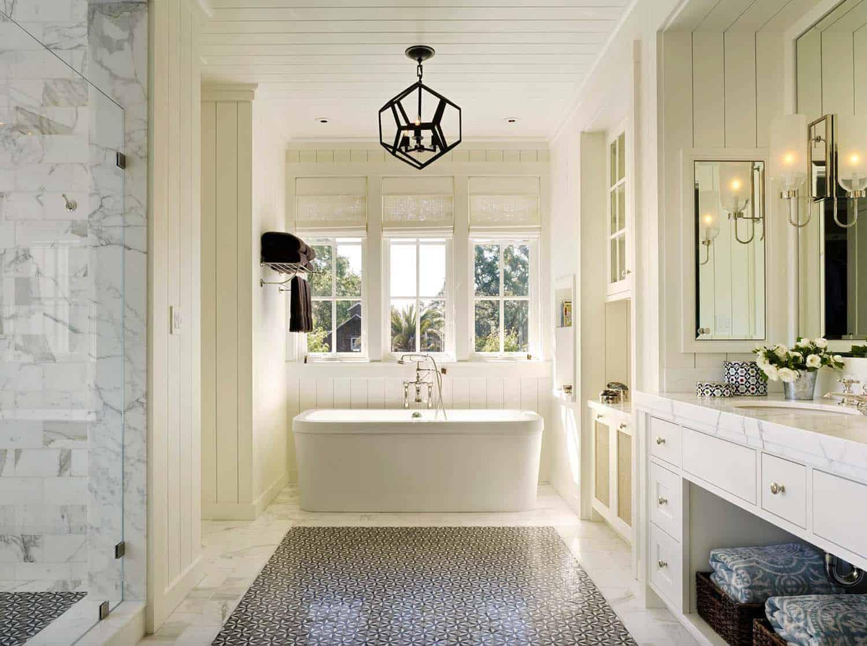 21 Gorgeous farmhouse style bathrooms you will love on Farmhouse Bathroom  id=90865