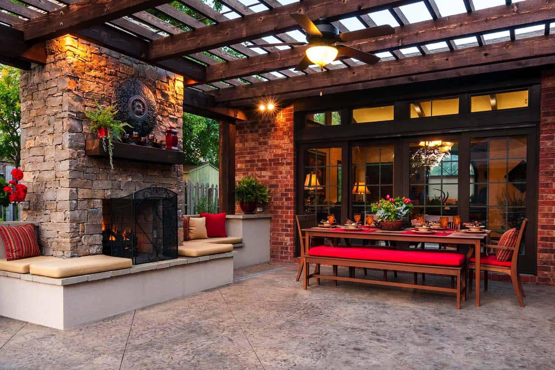 25+ Amazingly cozy backyard retreats designed for entertaining on Cozy Patio Ideas id=48541