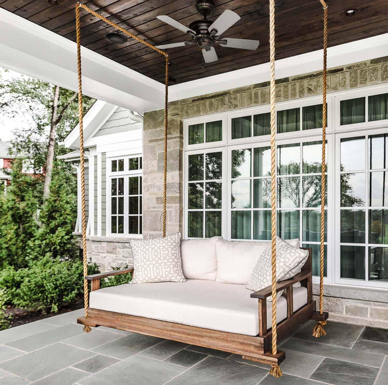 fabulous outdoor swing beds