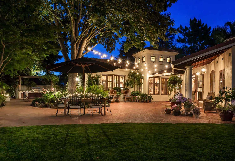 25 Very inspiring string light ideas for magical outdoor ... on Backyard String Light Designs id=77710