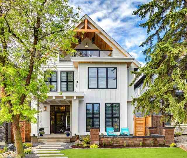 Modern Farmhouse Style Trickle Creek Designer Homes   Kindesign