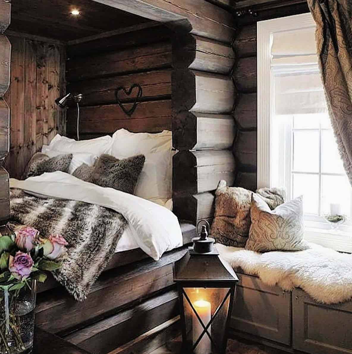 33 Ultra-cozy bedroom decorating ideas for winter warmth on Bedroom Decoration Ideas  id=56814