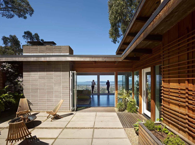Best Kitchen Gallery: Stunning Mid Century Modern Home Renovation In Berkeley Hills of Modern Home Renovation  on rachelxblog.com