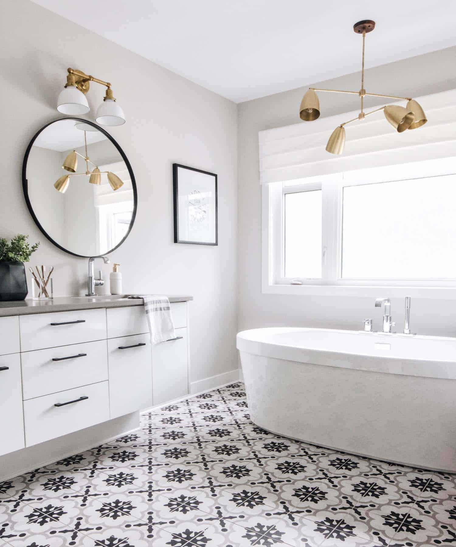 Light-filled contemporary model home in Ottawa offers ... on Bathroom Model Design  id=99247
