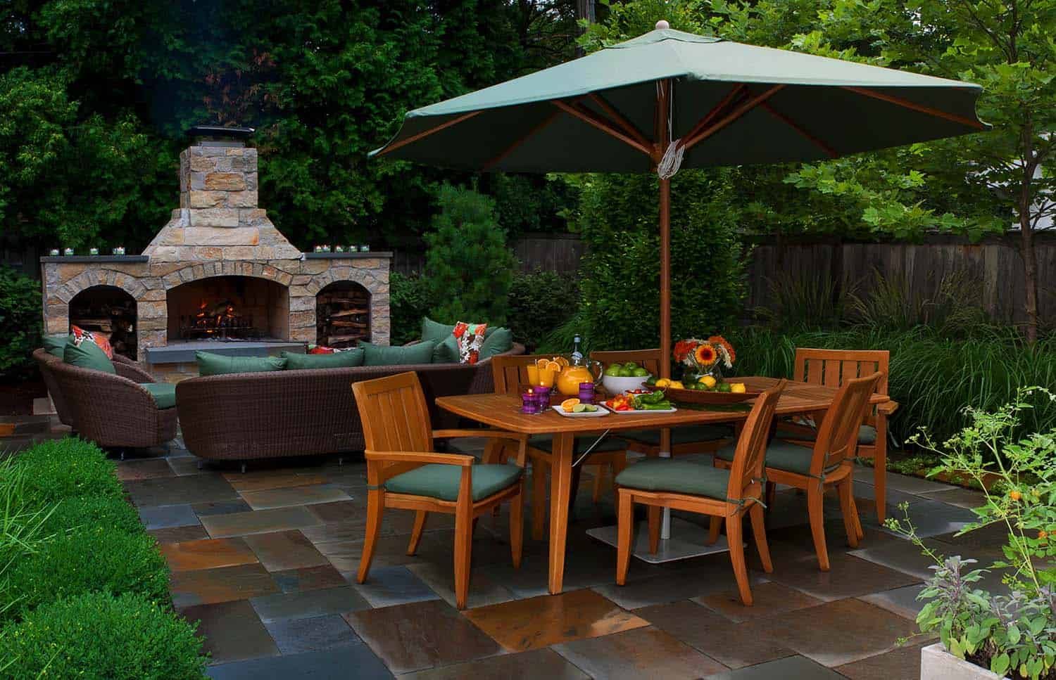 25+ Fabulous outdoor patio ideas to get ready for spring ... on Back Garden Patio Ideas  id=66093