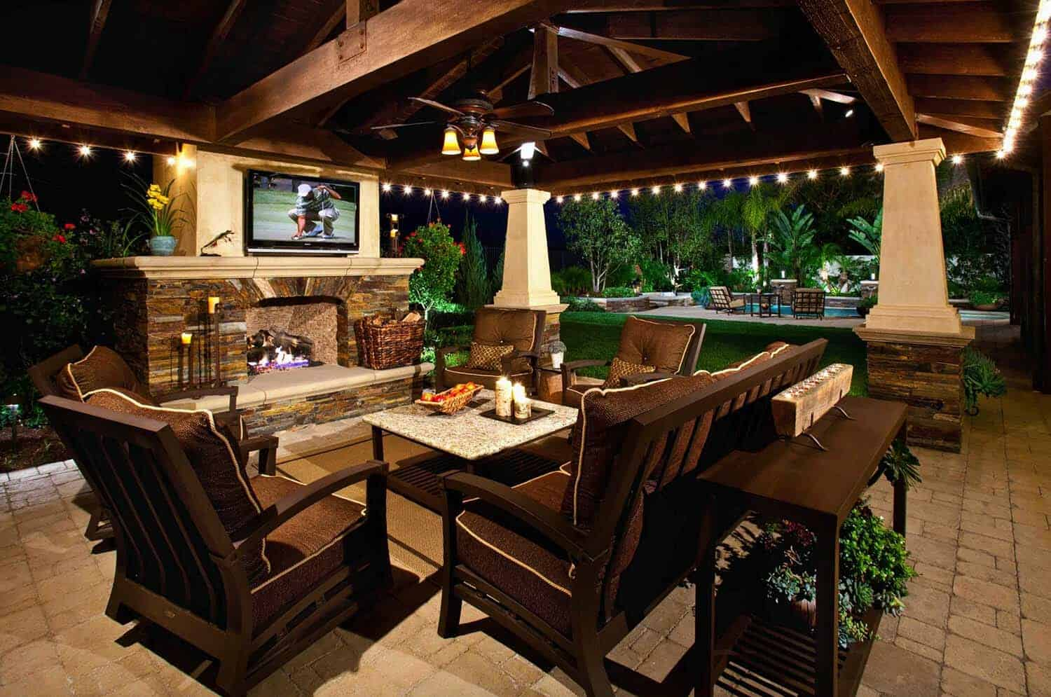 25+ Fabulous outdoor patio ideas to get ready for spring ... on Backyard Porch Ideas id=21473