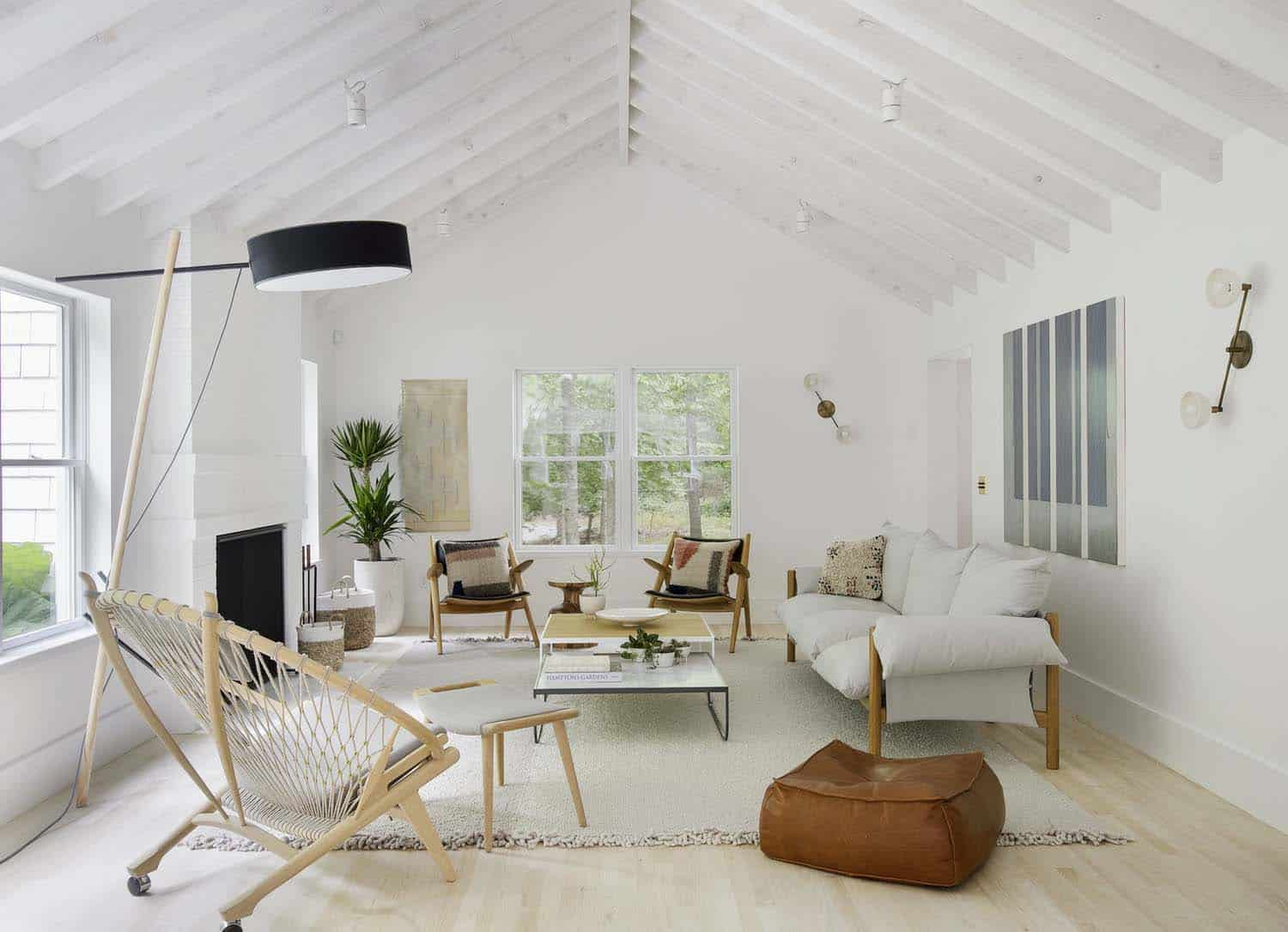 Scandinavian-style Beach Retreat Gets Radiant Makeover In
