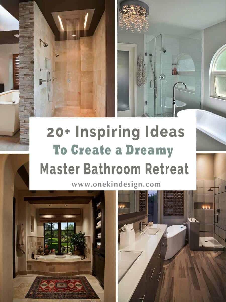 dreamy master bathroom retreat