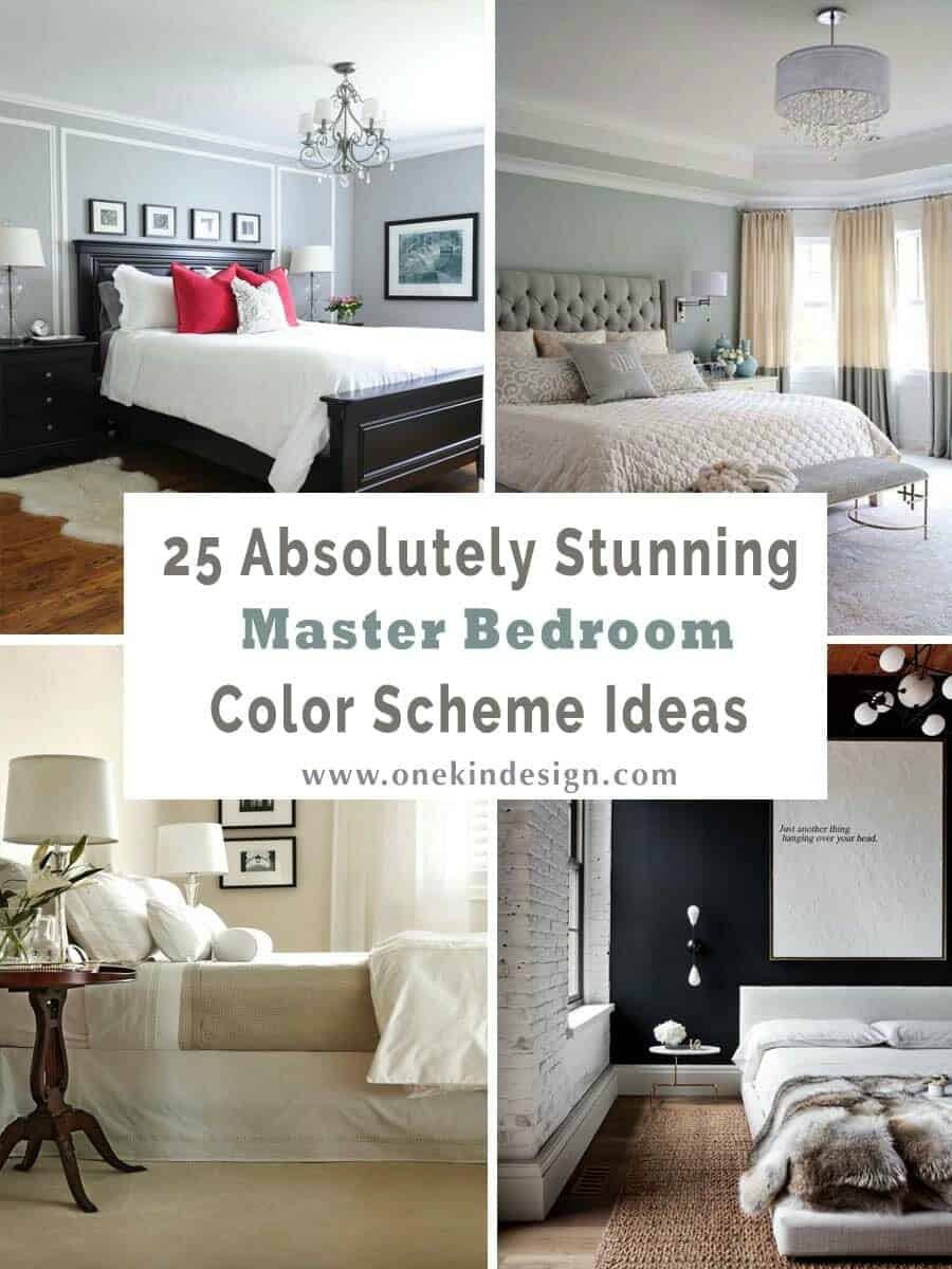 25 Absolutely stunning master bedroom color scheme ideas on Master Bedroom Ideas  id=15127