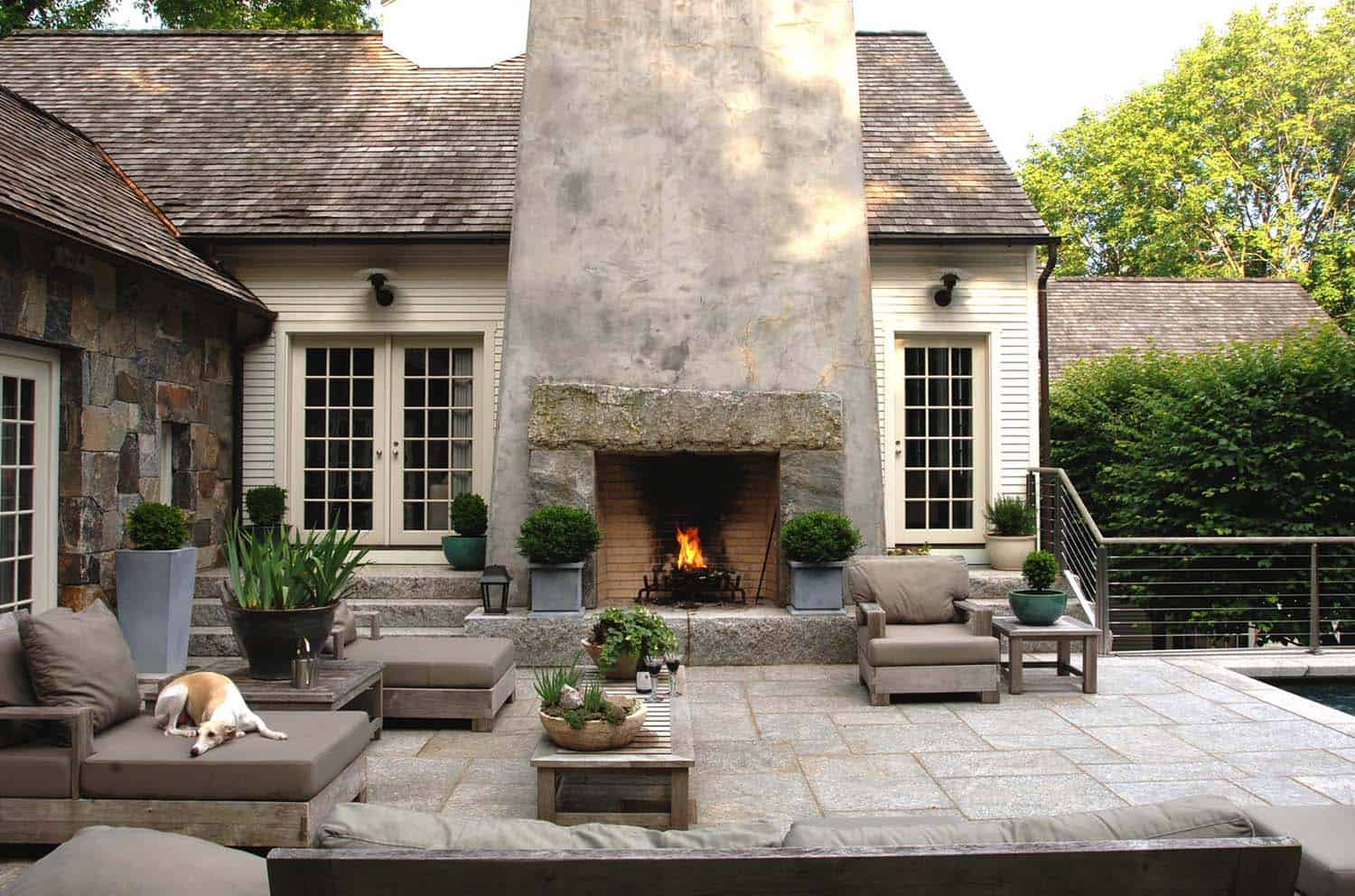 30+ Irresistible outdoor fireplace ideas that will leave ... on Outdoor Fireplaces Ideas  id=36785