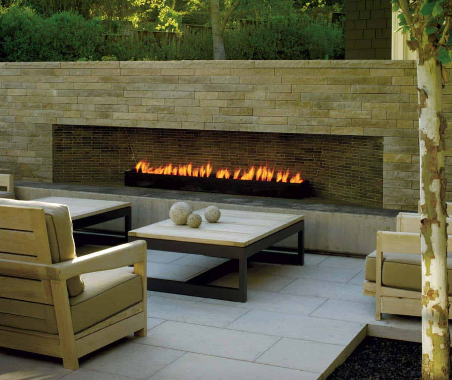 irresistible outdoor fireplace ideas