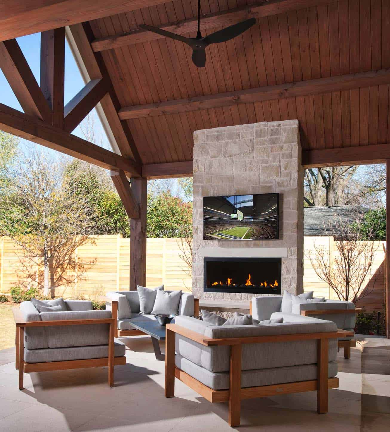 30+ Irresistible outdoor fireplace ideas that will leave ... on Outdoor Fireplaces Ideas  id=82773