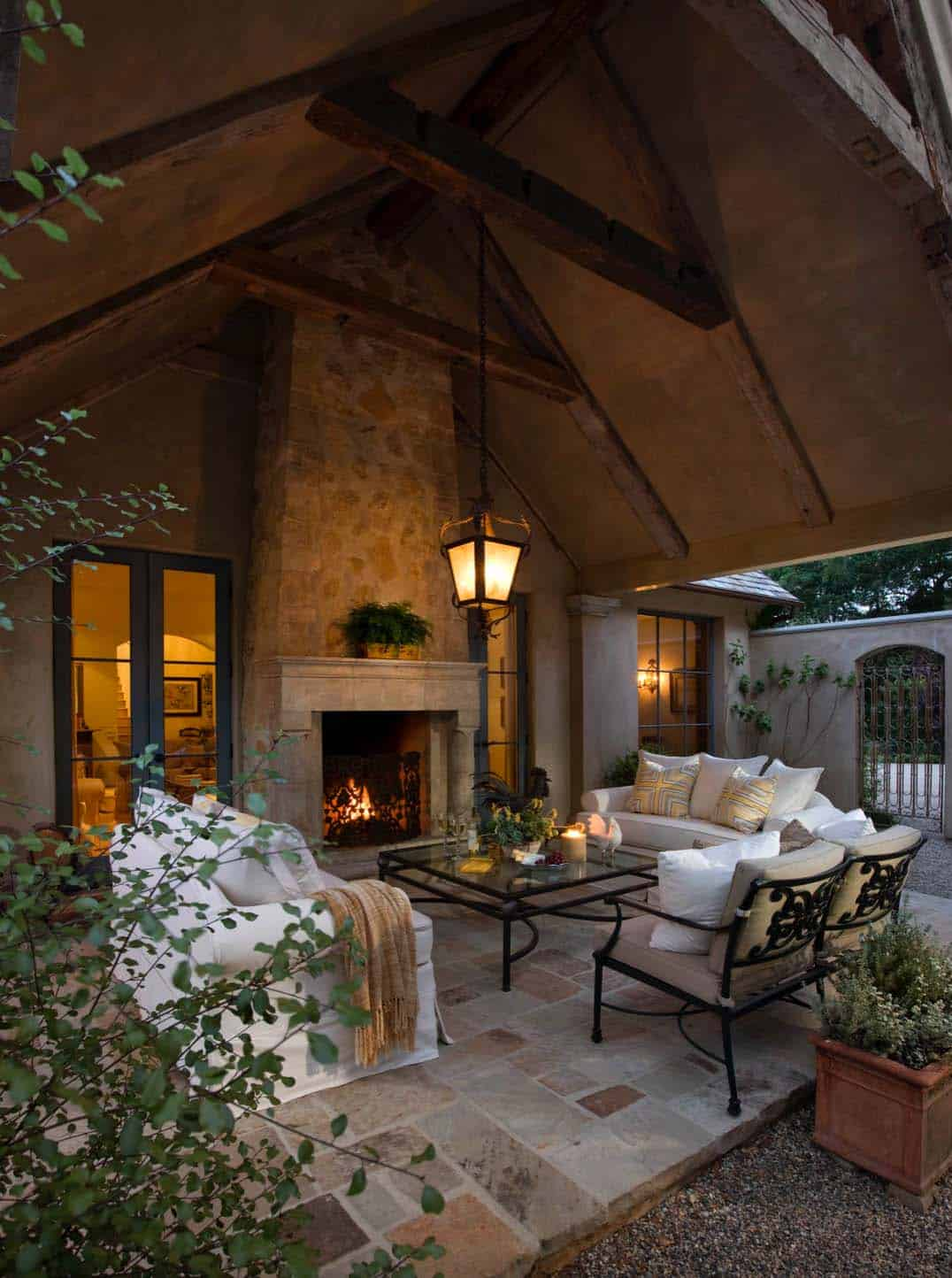 30+ Irresistible outdoor fireplace ideas that will leave ... on Outdoor Fireplaces Ideas  id=87163