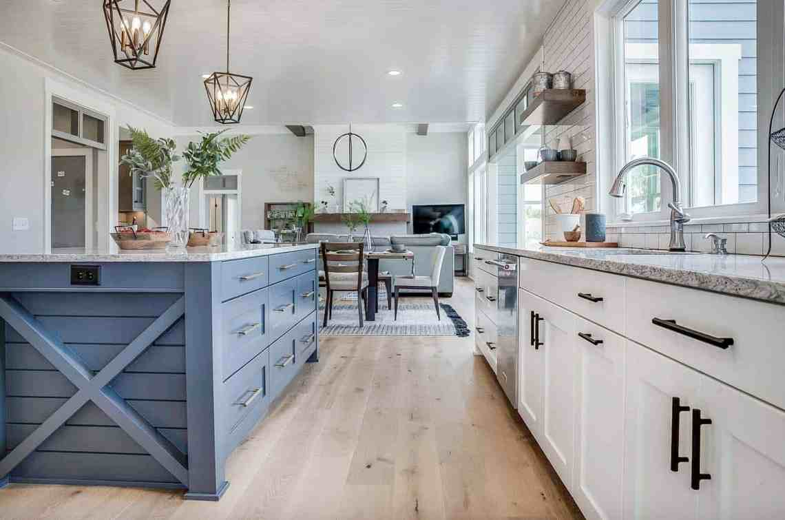 Modern eclectic farmhouse with delightful design features ...
