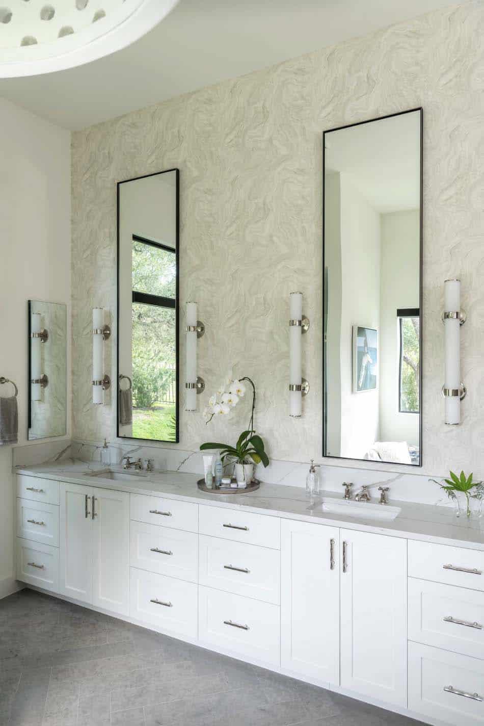 Modern farmhouse style in Texas showcases fantastic design ... on Modern Farmhouse Shower  id=75806