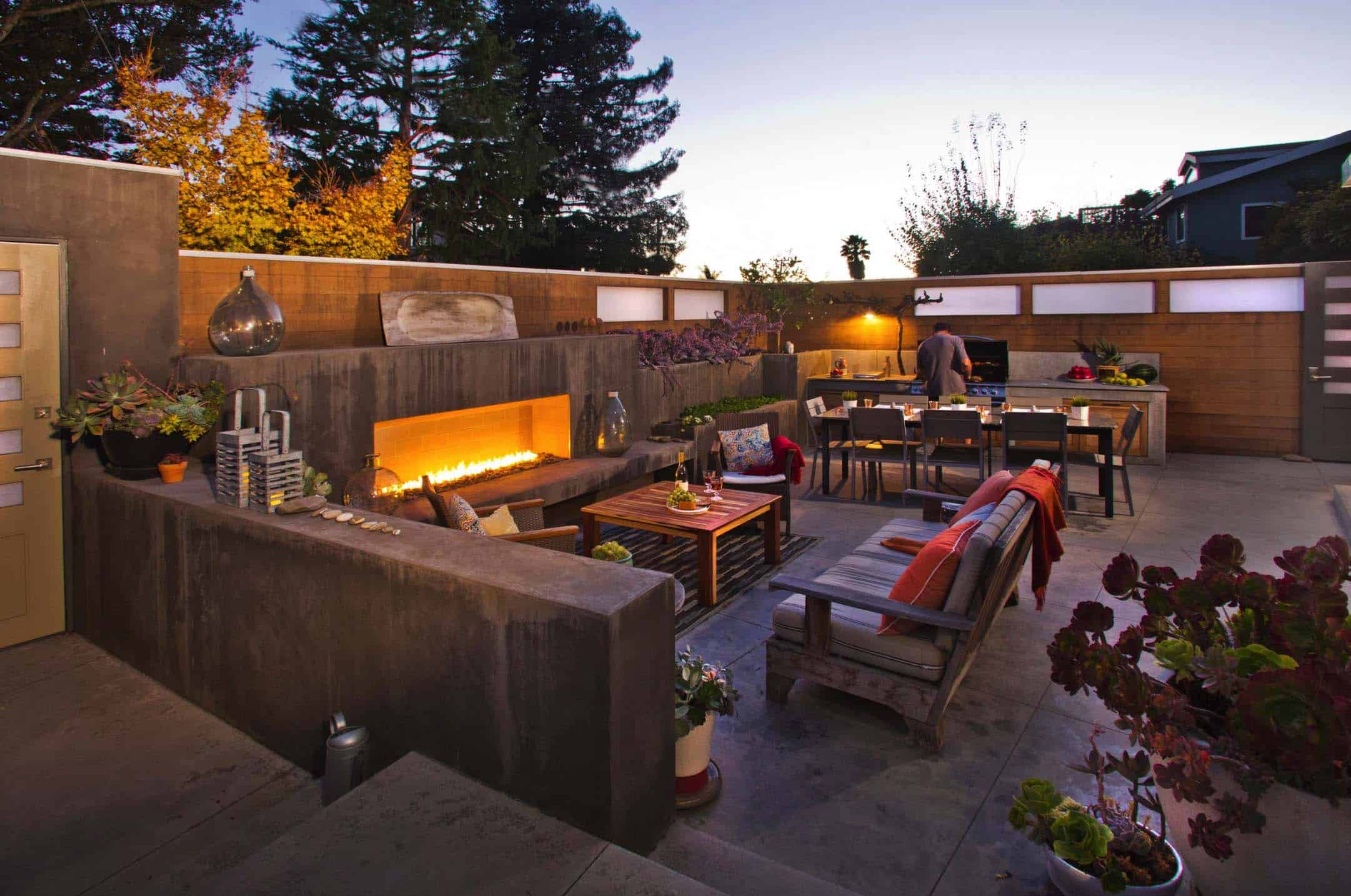35 Brilliant and inspiring patio ideas for outdoor living ... on Garden Entertainment Area Ideas id=26008