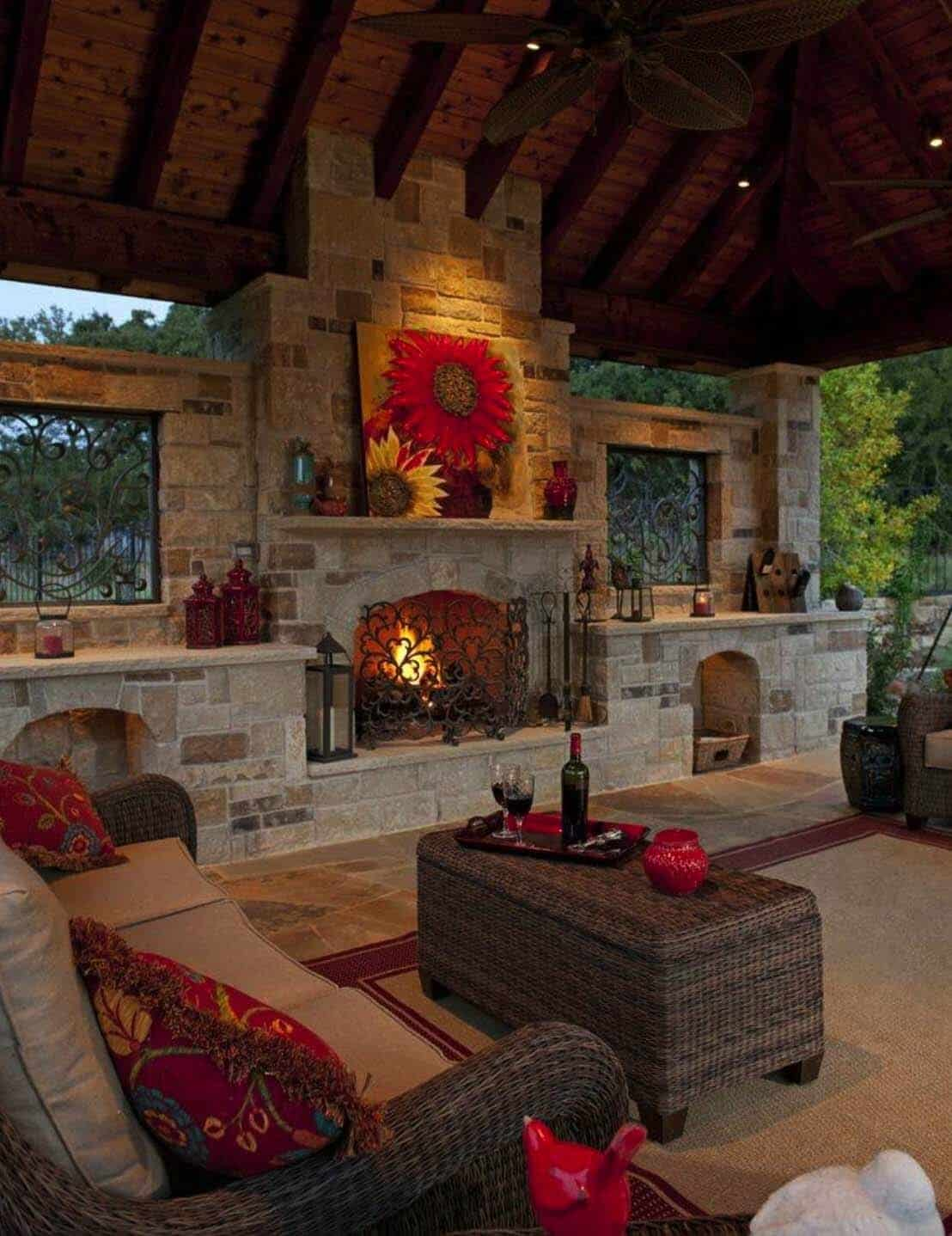 35 Brilliant and inspiring patio ideas for outdoor living ... on Outdoor Living And Patio id=19438