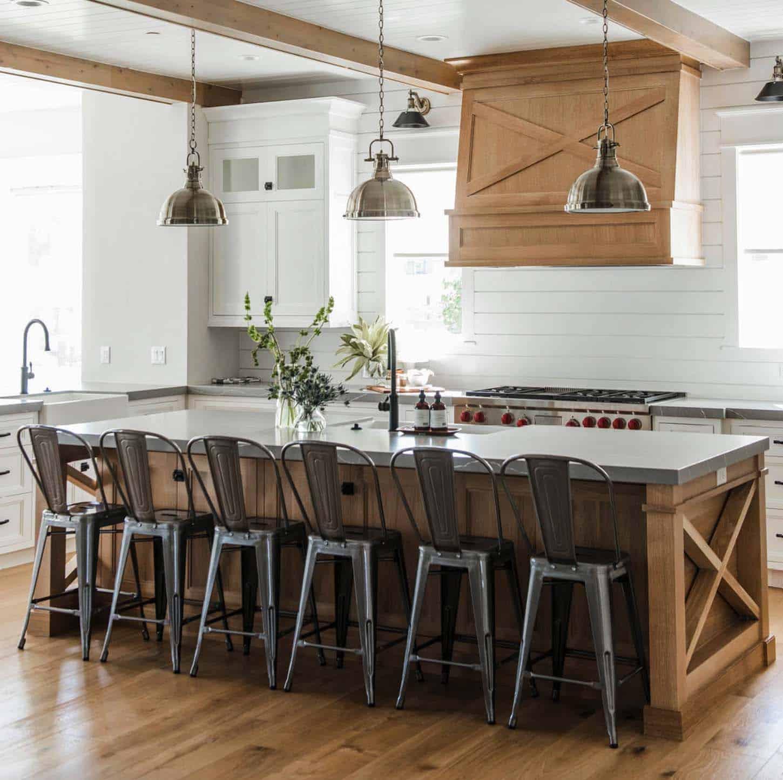 35+ Amazingly creative and stylish farmhouse kitchen ideas on Farmhouse Kitchen Ideas  id=88178