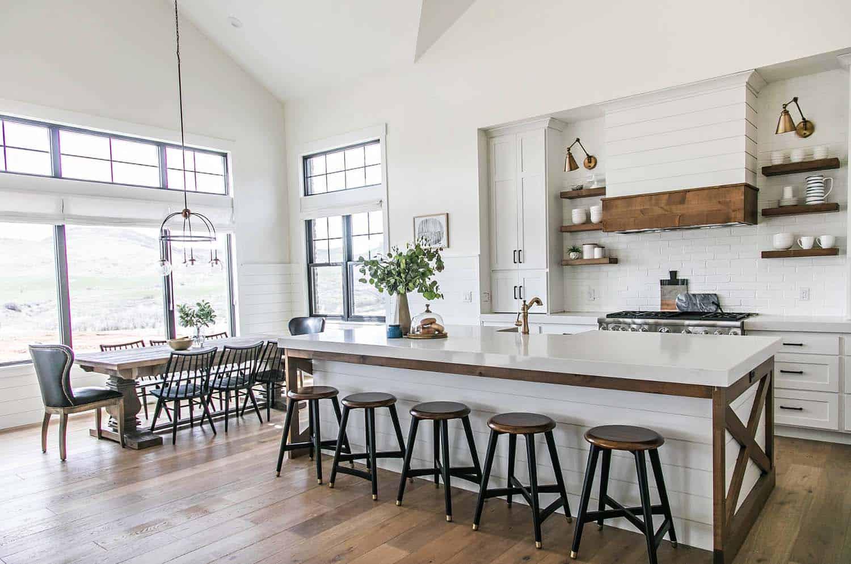 35+ Amazingly creative and stylish farmhouse kitchen ideas on Farm House Kitchen Ideas  id=81418