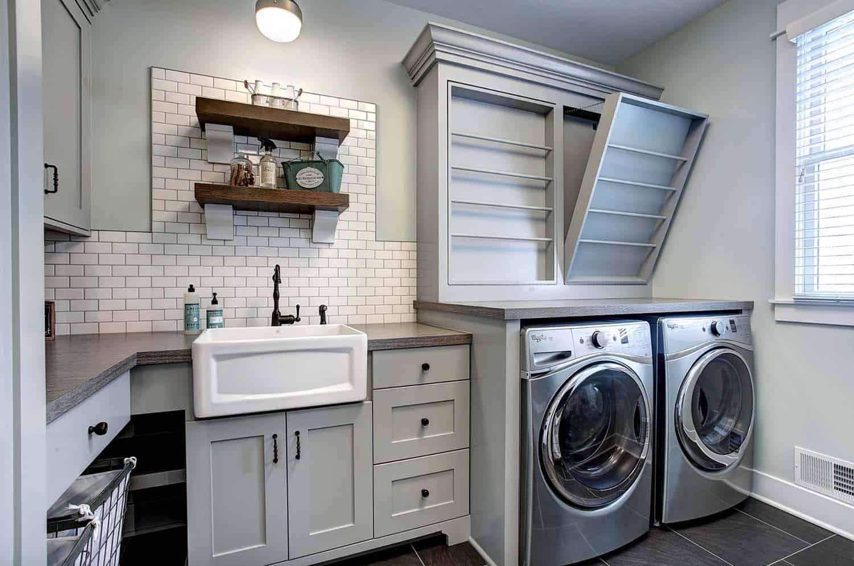 30+ Unbelievably inspiring farmhouse style laundry room ideas on Laundry Room Decor  id=47065