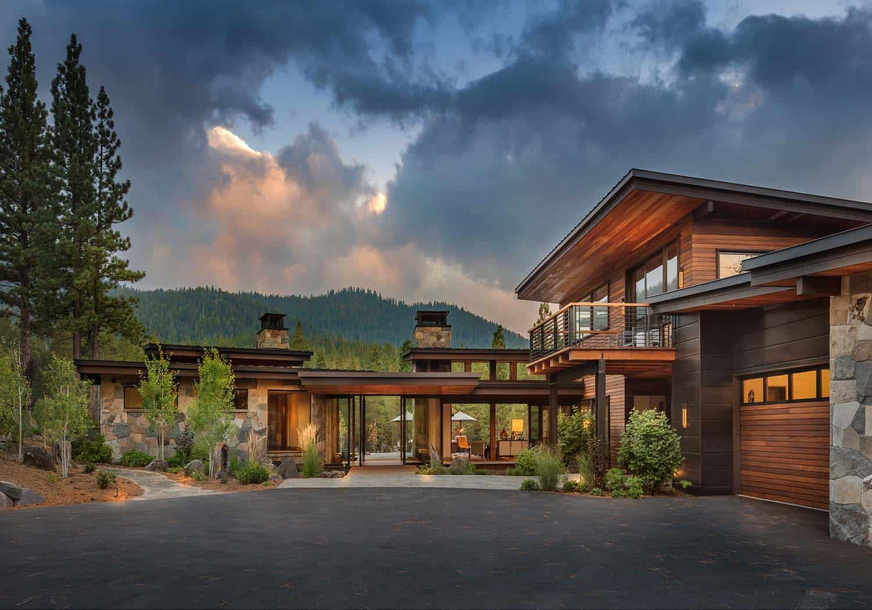 Modern home celebrates indoor-outdoor living in Sierra ... on Mountain Backyard Ideas  id=54846