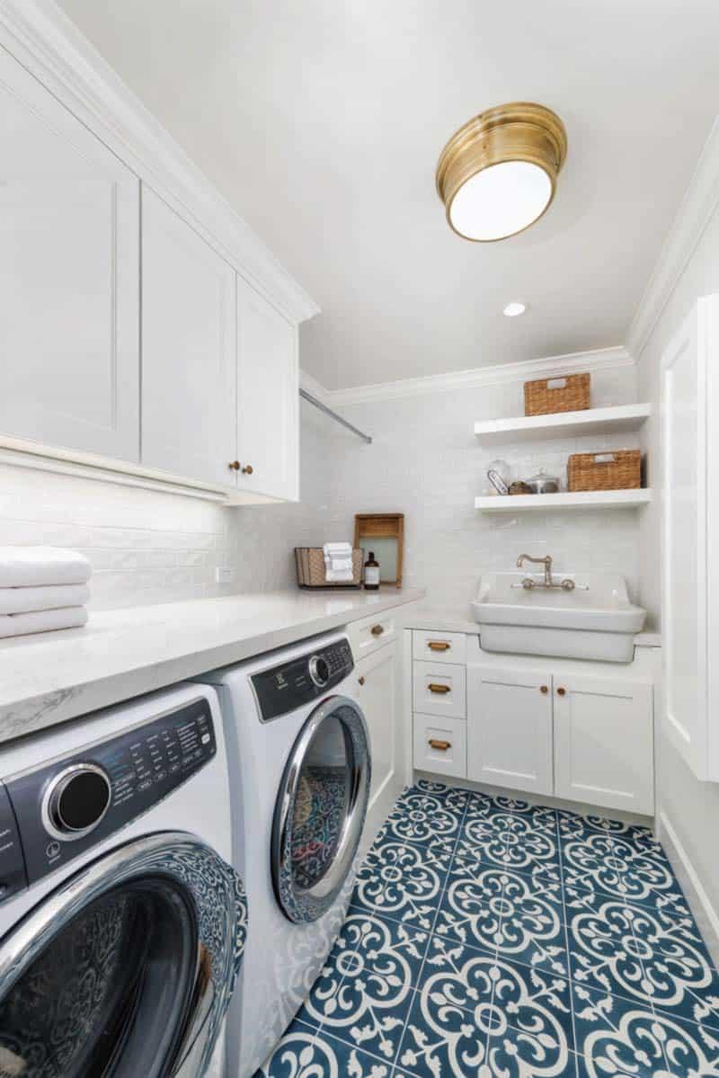 stylish laundry room design