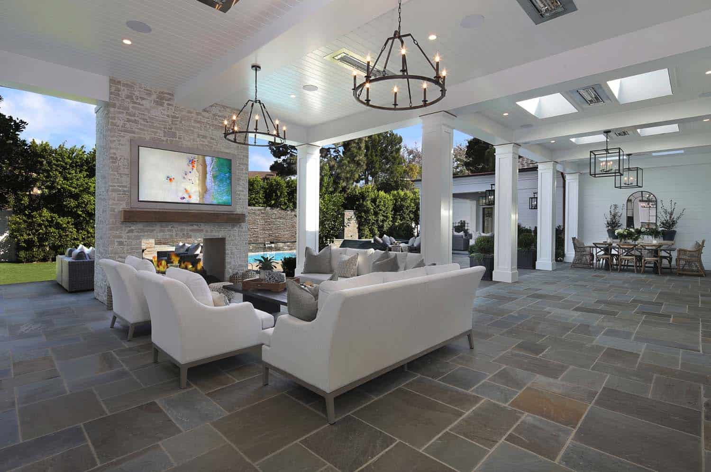 Luxury residence celebrates indoor-outdoor living in ... on Custom Outdoor Living id=77576
