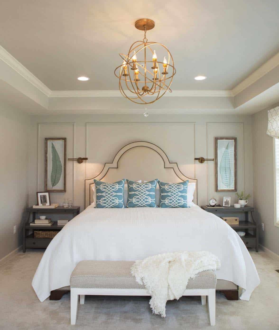 20+ Serene And Elegant Master Bedroom Decorating Ideas on Master Bedroom Ideas  id=70890