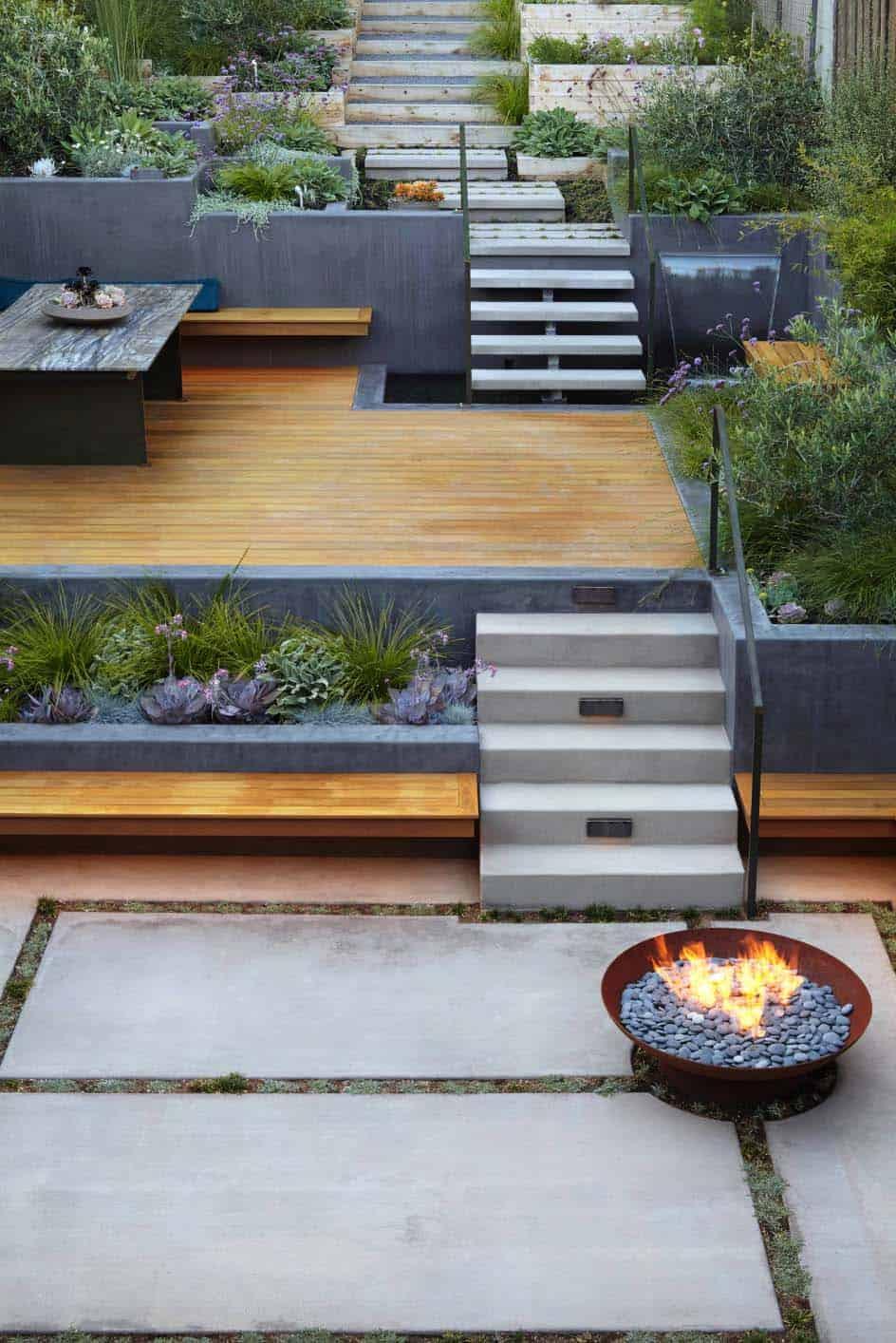 28 Inspiring Fire Pit Ideas To Create A Fabulous Backyard ... on Fire Pit Design  id=95364