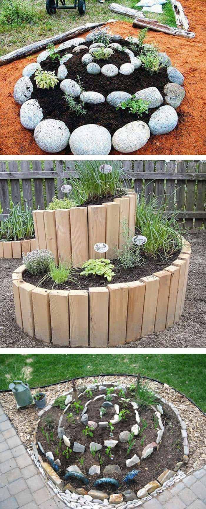 30 Amazing Ideas For Growing A Vegetable Garden In Your ... on Outdoor Vegetable Garden Ideas id=71577