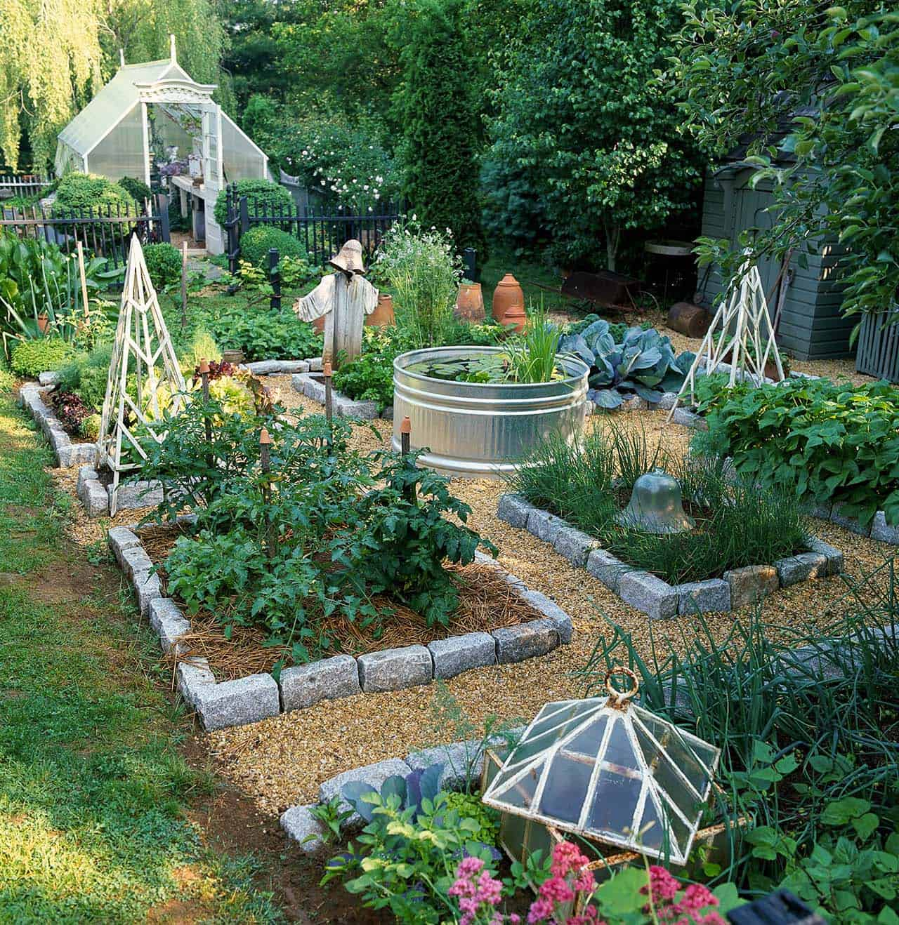 30 Amazing Ideas For Growing A Vegetable Garden In Your ... on Outdoor Vegetable Garden Ideas id=71247
