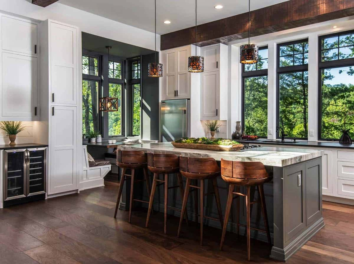 40 Unbelievable Rustic Kitchen Design Ideas To Steal on Farmhouse Rustic Kitchen Ideas  id=17683