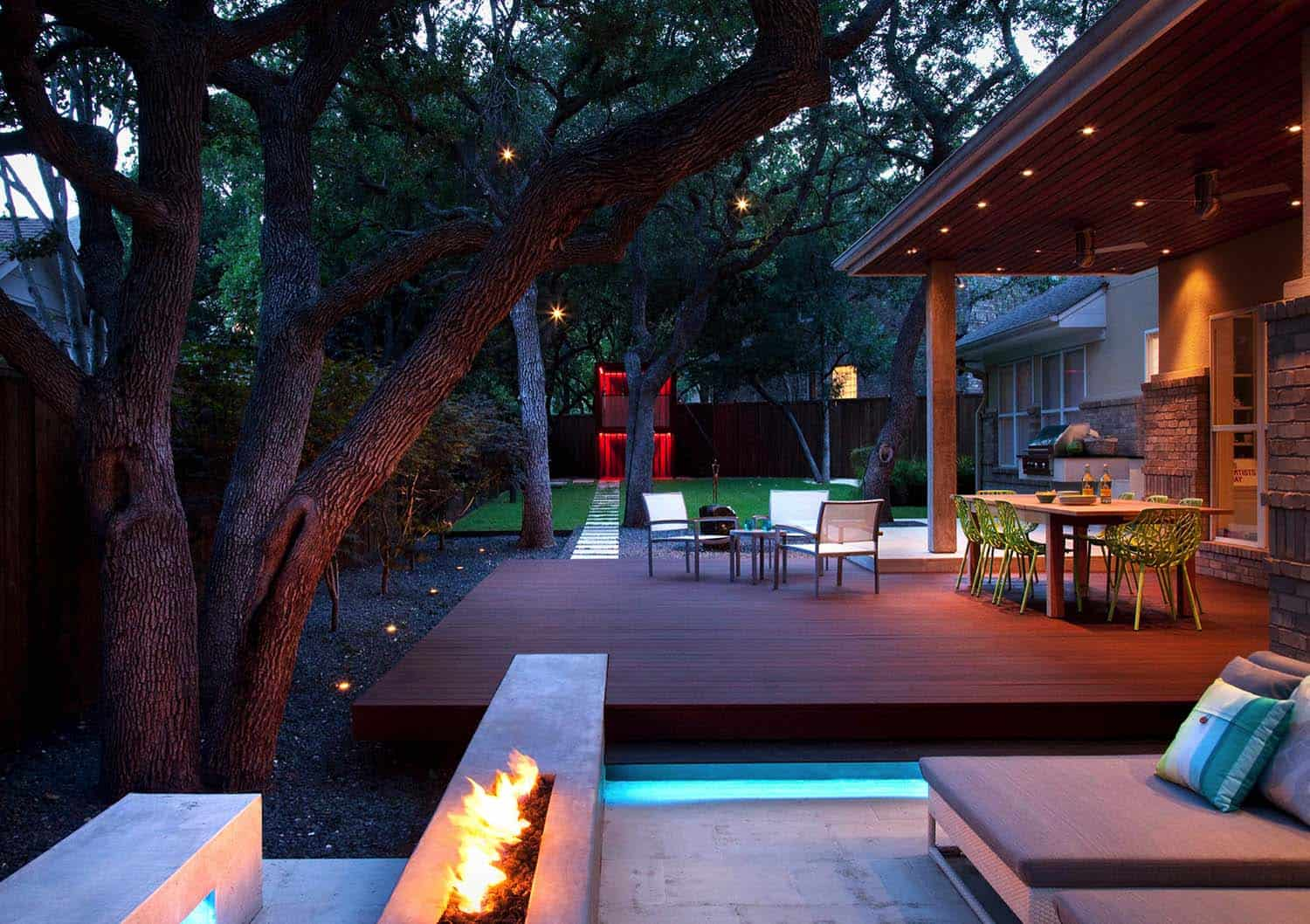 25+ Amazing Ideas For Creating An Outdoor Deck For ... on Backyard Deck Designs id=70502