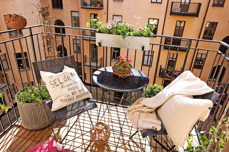 incredibly inspiring apartment balcony