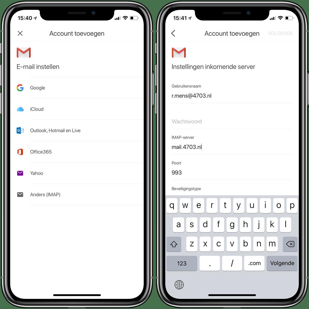 Gmail App Is Klaar Iphone X En Ondersteunt Externe E