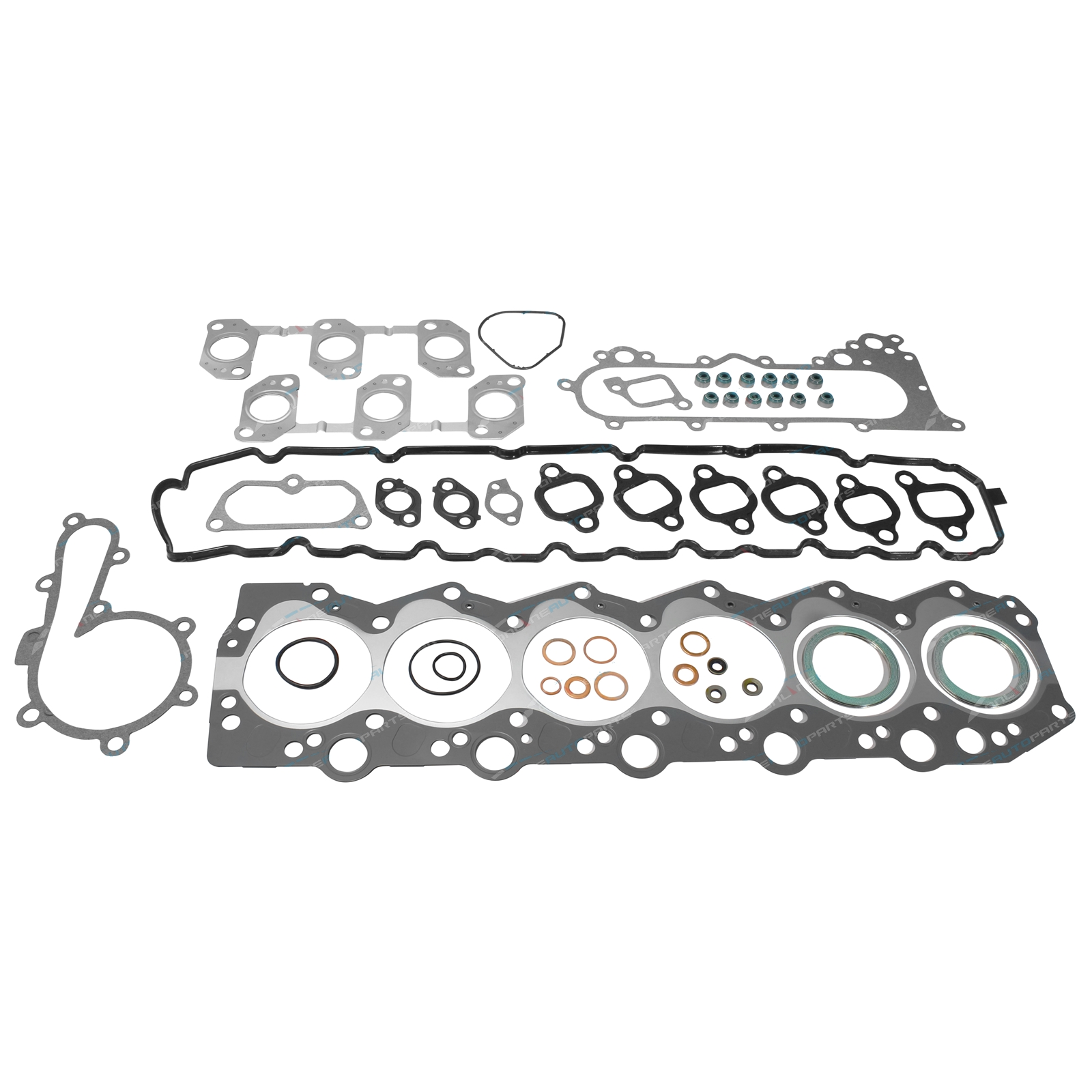 Engine Vrs Set Inc Cylidner Head Gasket Suits Toyota Hdj80