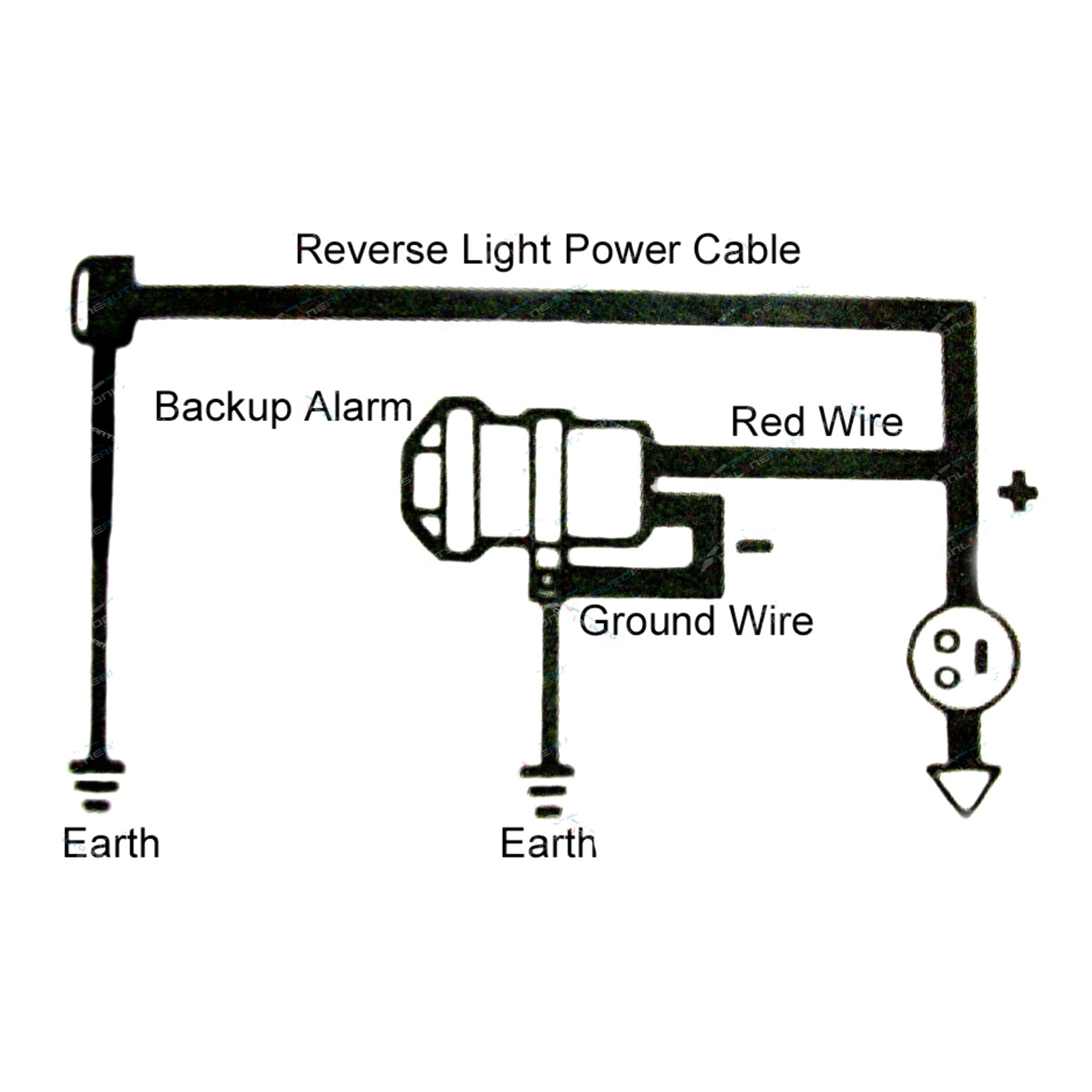 C Wiring Diagram Back Up Alarm