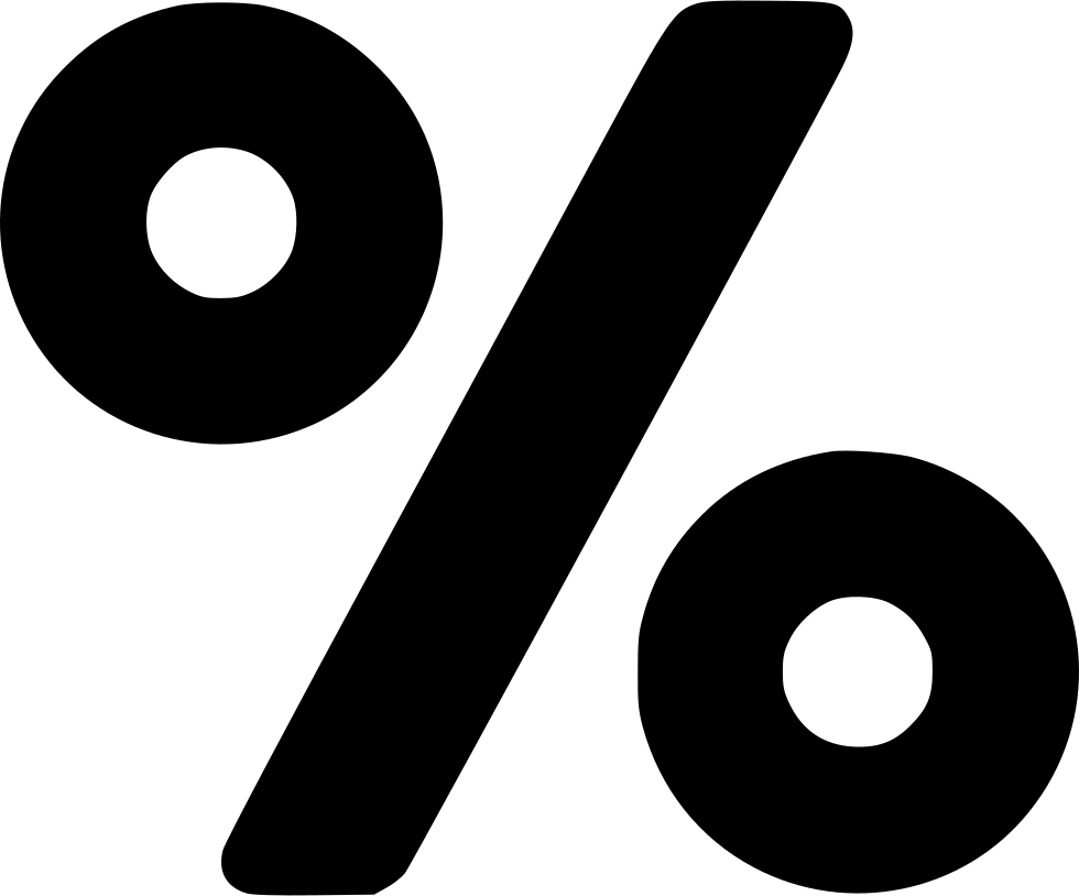 Percent Svg Png Icon Free Download 549444