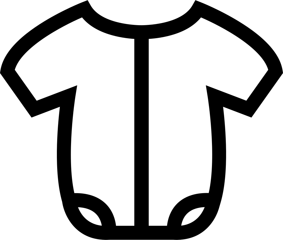Download Baby Onesie Outline Svg Png Icon Free Download (#62653 ...