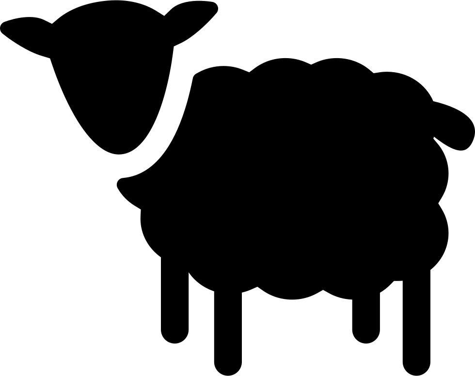 Download Sheep Silhouette Svg Png Icon Free Download (#74710 ...