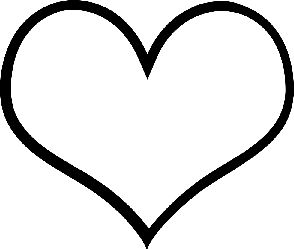 Empty Hearts Svg Png Icon Free Download 190831