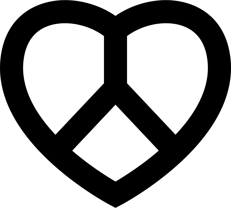 Download Love And Peace Symbol Svg Png Icon Free Download (#27244 ...